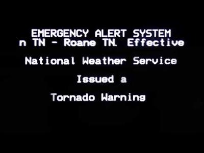 Emergency Alert System Broadcast